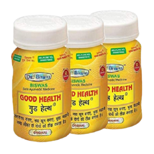 Dr. Biswas Ayurvedic Good Health – 50 Capsules, Pack of 3