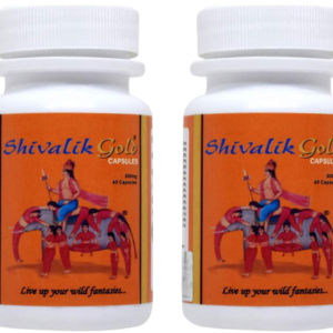 Shivalik Gold 80 Caps- Nyaa Josh, Bharpoor Shakti and Natural Health- Complete Health For Men