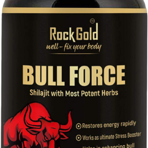 Rock Gold Bull Force Capsule – 500mg 60 Capsules (Pack of 1)